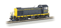 Bachmann Trains 63401 S-2 Santa Fe Diesel Locomotive DCC Sound Equipped