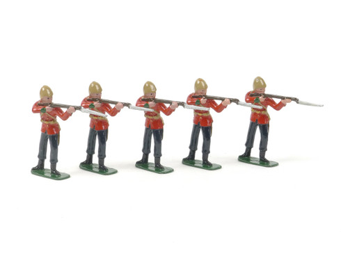 Blenheim Military Models B14 24th Foot 5 Privates Standing Firing Zulu War Series