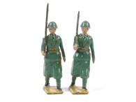 William Britain Italian Infantry Service Dress Marching at the Slope Set 1435