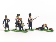 William King Military Miniatures WK2TM Grenadiers of the French Old Guard Command Set