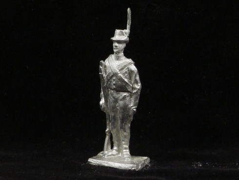 American Irregulars at Attention War of 1812 Yeknik Toy Soldier Collection