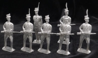 American Irregulars at the Ready War of 1812 Yeknik Toy Soldier Collection