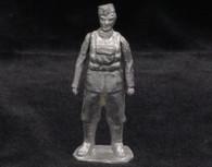 Unpainted World War II British Paratrooper Yeknik Toy Soldier Collection