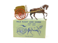 WBritain 45F Milk Float and Horse Farm Home Series