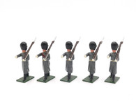 Soldiers of the World Set BE15B Forces of the British Empire - Guard Regiments Marching in Grey Greatcoats