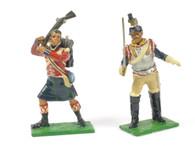 Little Legion Military Models Set WB16 Blackwatch and 9th Regiment Cuirassiers