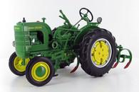 SpecCast John Deere 1942 Model LA Tractor with Leaf Spring Cultivator JDM-249 1/16