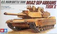 Tamiya Model Kit Abrams Tusk II M1A2 Sep US Main Battle Tank Item 35326 1/35 Scale