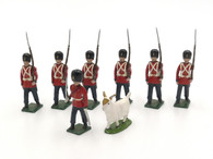 Blenheim Toy Soldiers Set B95 Royal Fusiliers W/ Officer & Goat