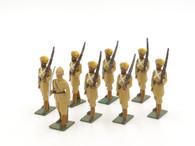 Bastion Toy Soldiers Set B94 Indian Guide Corps Marching