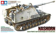 Tamiya Model Kit Nashorn Heavy Tank Destroyer German World War II Item 35335 1/35 Scale