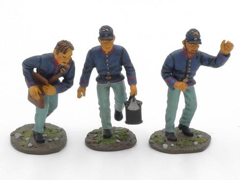 WBritain 17530 Regiments Union Artillery Men American Civil War
