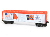 Lionel Model Trains Set   Lionel Spirit of '76 Georgia Box Car 6-7604 Scale Model Railroad