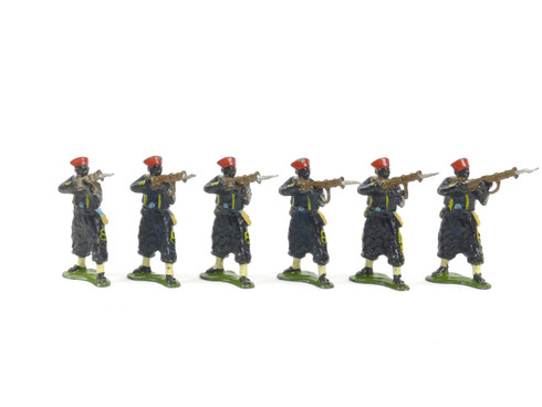 Authenticast Comet Toy Soldiers Set 607 French Senegalese Aiming 1914