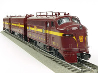 RMT92615 Ready Made Trains Pennsylvania O BEEF F-3 ABA Diesel Set PRR Tuscan Red