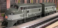 RMT92621 Ready Made Trains New York Central O BEEF F-3 AA Diesel Set O Gauge