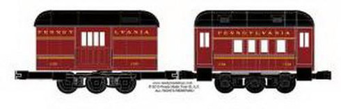 RMT 930151 Ready Made Trains O PEEP Pennsylvania Passenger Car Set O Gauge