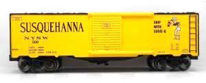 RMT 964439 Ready Made Trains Susquehanna Boxcar O Gauge
