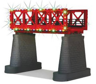 MTH RailKing 40-1116 Girder Bridge with Operating Christmas Lights