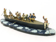 WBritain 17229 Washington Crossing The Delaware American Revolution Series