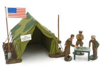 WBritain 41106 United States Leader Scene Military Strategy Meeting World War I