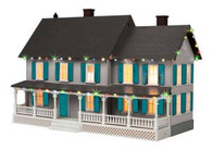 MTH 30-90545 O Gauge #4 Country House w/Operating Christmas Lights