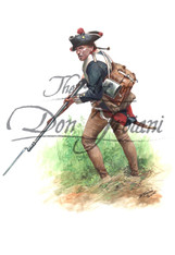 Musketeer Hessian Regiment Von Bose, 1781 - American Revolution (TRW98DS)