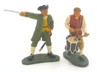 WBritain 17214 American Command Set American Revolution