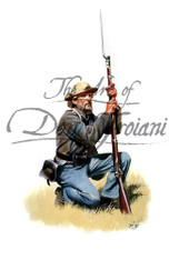 Kneeling Confederate Infantry Corporal