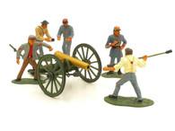 WBritain 17239 Confederate Artillery Set Regiments American Civil War
