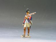 King & Country Soldiers BR061 British Marching Rifleman American Revolution