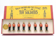 APN Humphries Toy Soldiers Grenadier Guards at Attention Egypt 1882
