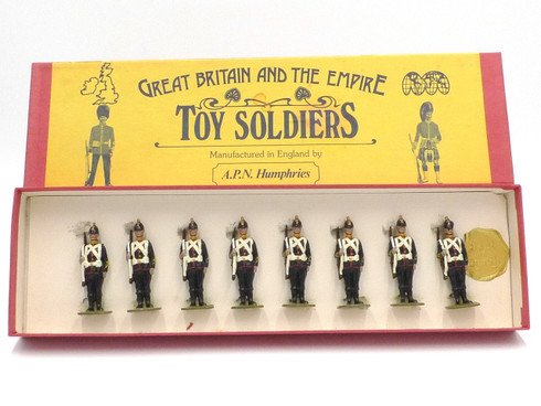 APN Humphries Toy Soldiers Royal Marine Artillery at Attention