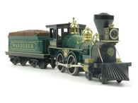 Rail King MTH Trains 30-1155-0 Wild Wild West Wanderer 4-4-0 Steam Engine with Whistle Cab #5