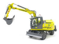 Atlas 140W Mobile Excavator NZG 837-03 Die-Cast Wheeled Excavator