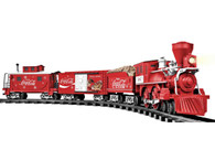 Lionel Trains 7-11488 Coca-Cola Holiday Set G Gauge Train Set