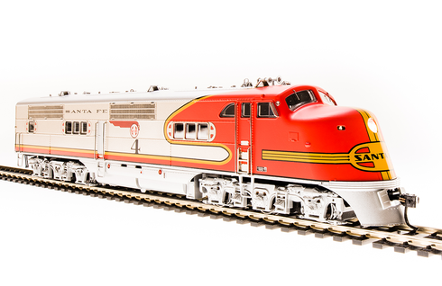 Broadway Limited 5493 Santa Fe ATSF E1 A Unit #2L Paragon3 Sound/DC/DCC HO Scale Trains