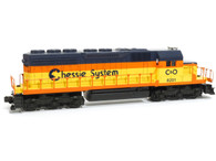 Lionel Model Trains Set Diesel Locomotive SD-40 Chessie System 6-18201 O Scale Powered Engine
