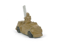 Barclay Manoil Armored Car with Anti-Aircraft Gun American Dimestore Toy Soldiers