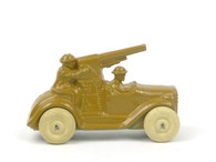 Barclay 198 Anti-Aircraft Gun Truck American Dimestore Toy Soldiers