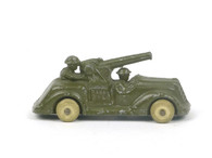 Manoil 75 Anti-Aircraft Gun Car American Dimestore Toy Soldiers
