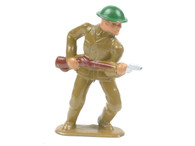 Barclay 706 Soldier Advancing American Dimestore Toy Soldiers