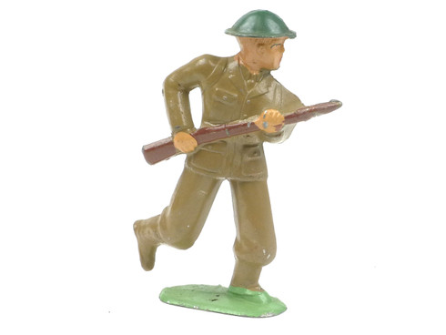 Barclay 748 Soldier Advancing American Dimestore Toy Soldiers