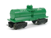 Louis Marx Cities Service 2532 Single Dome Tank Car in Green