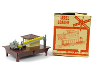 Louis Marx Trains 1456 Operating Barrel Loader Marline