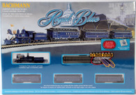 Bachmann Model Trains Royal Blue Electric Train Set 24018 N Scale