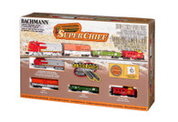 Bachmann Model Trains Super Chief Electric Train Set 24021 N Scale
