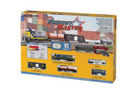 Bachmann Model Trains Set Freight Master Electric Train Set 24022 N Scale with E-Z Track System