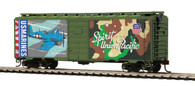 MTH Trains 85-74160 HO Scale 40' PS-1 Union Pacific Box Car US Navy