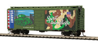 MTH Trains 85-74163 HO Scale 40' PS-1 Union Pacific Box Car US Army